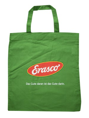 Erasco cotton bag with logo
