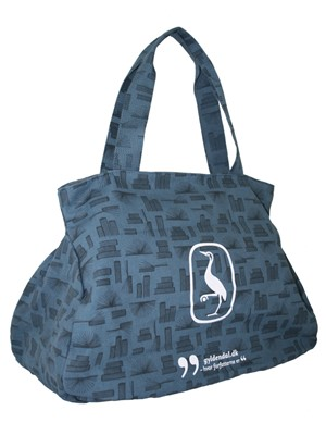 Gyldendal Shopper with logo