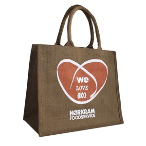 We Love ECO Jute bag