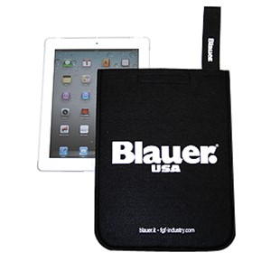 Blauer iPad filt cover