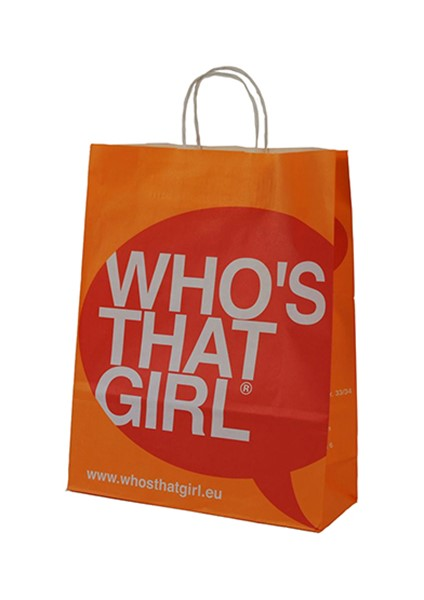 Who's that girl classic paper bag