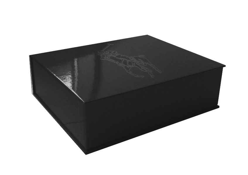 Ralph Lauren box with print