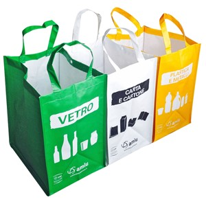 Recycling Waste Bags - reusable