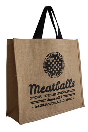 Meat Ball Jute bag