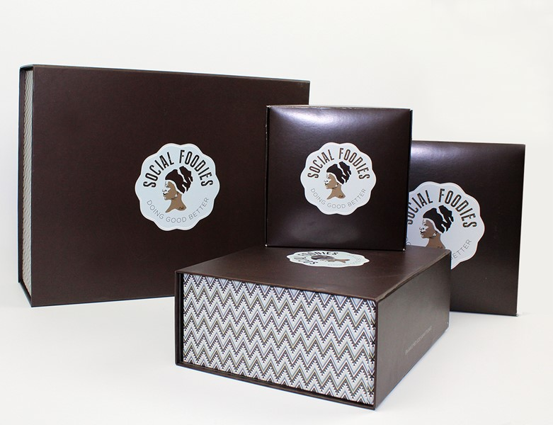 Social foodies gift boxes