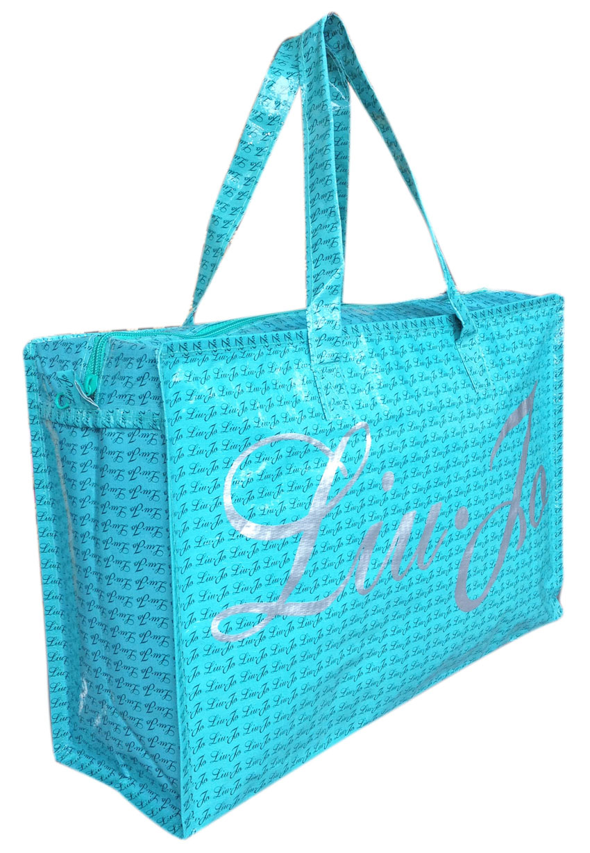 Shopping bag with zipper LIU-JO - Re-bag
