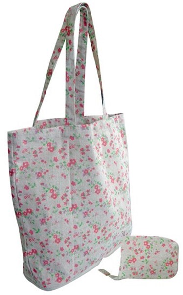 Linen Mulebag with purse