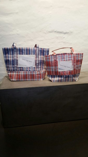 Cool sustainable Checkered bags
