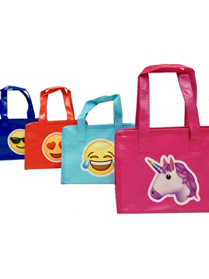 Smart Nonwoven Emoji bags small